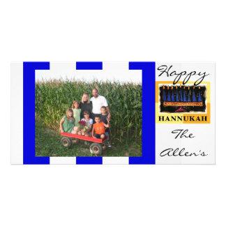 Happy Hannukah photo card