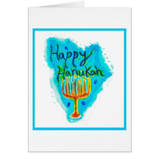 Happy Hanukah Card