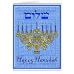 Happy Hanukah Greeting Cards