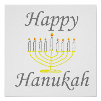 Happy Hanukah Poster