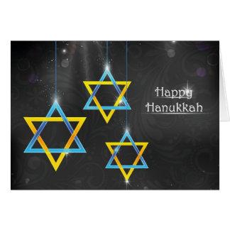 Happy Hanukkah background Greeting Card