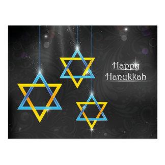 Happy Hanukkah background Postcard