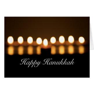 Happy Hanukkah Blank Greeting Card