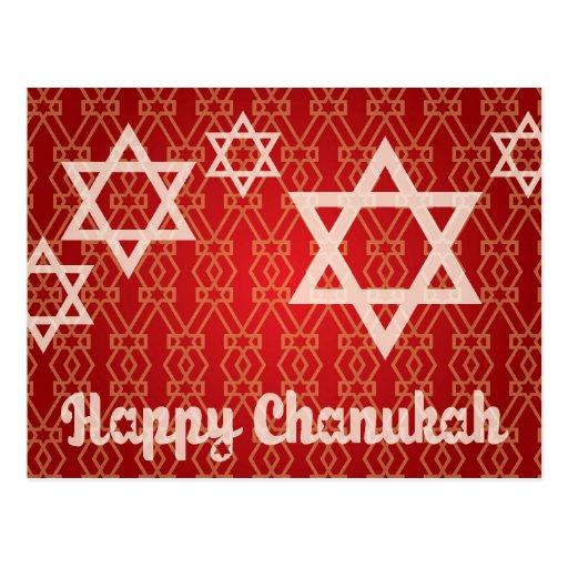 Happy Hanukkah - Chanukah Card Post Cards