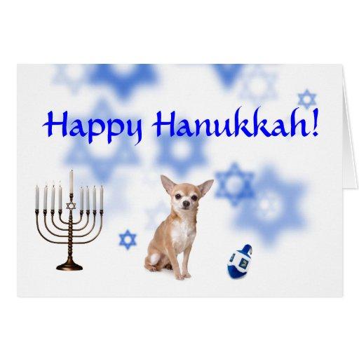 Happy Hanukkah Chihuahua Cards