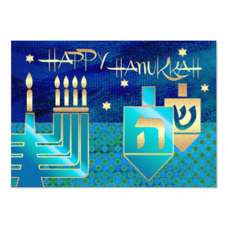 Happy Hanukkah. Customizable Greeting Cards Custom Invitations