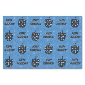 Happy Hanukkah Dreidel Cutout Tissue Paper
