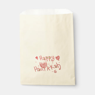 Happy Hanukkah Favour Bag