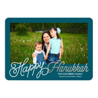 Happy Hanukkah | Hanukkah Card 13 Cm X 18 Cm Invitation Card