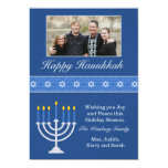Happy Hanukkah Holiday Card Invitation