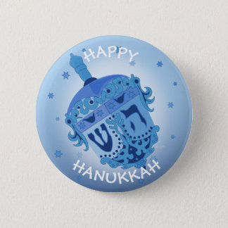 HAPPY HANUKKAH HOLIDAYS Standard, 2¼ Inch 6 Cm Round Badge