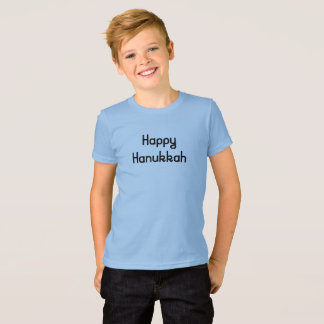 Happy Hanukkah in fun retro letters T-Shirt