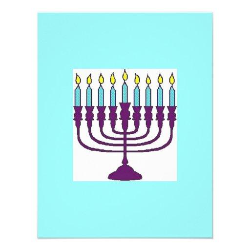 Happy Hanukkah Personalized Announcement