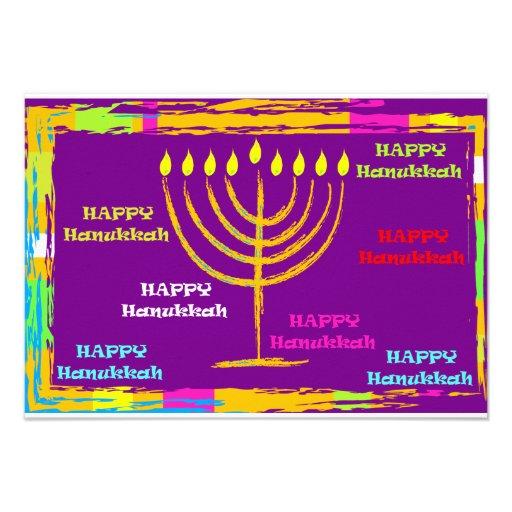 Happy Hanukkah Invite