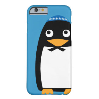 Happy Hanukkah Jewish Penguin Yarmulke Barely There iPhone 6 Case