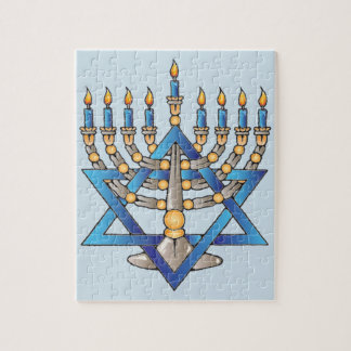 Happy Hanukkah Jigsaw Puzzle