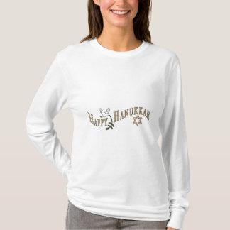 Happy Hanukkah Ladies,Girls T Shirt