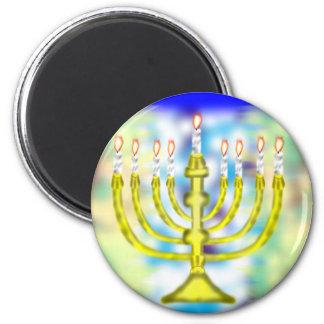 Happy Hanukkah Magnet