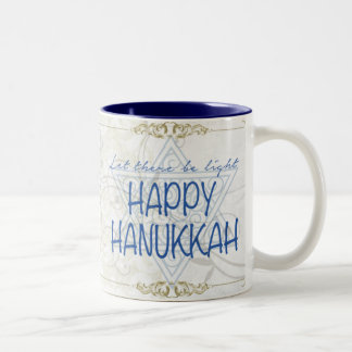 Happy Hanukkah Mug Holiday Gift