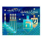 Happy Hanukkah. Personalised Hanukkah Postcards