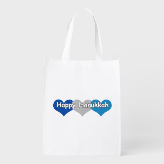 Happy Hanukkah Reusable Grocery Bag