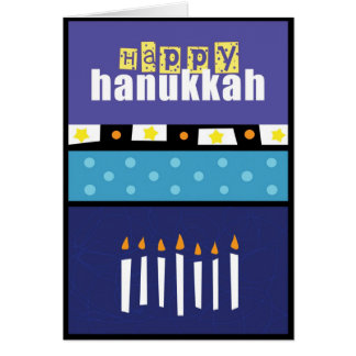 Happy Hanukkah s2 greeting card