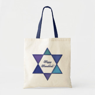 Happy Hanukkah Star of David Bag