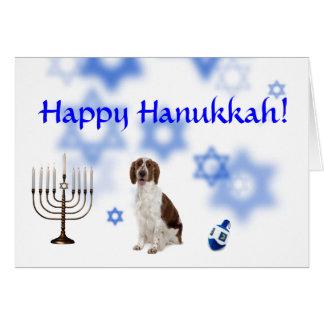 Happy Hanukkah Welsh Springer Spaniel Cards