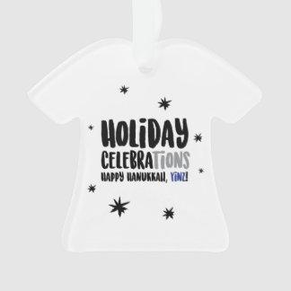 Happy Hanukkah, Yinz Ornament