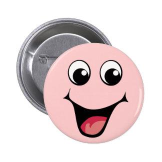 Happy happy HAPPY HAPPPPAY! 6 Cm Round Badge