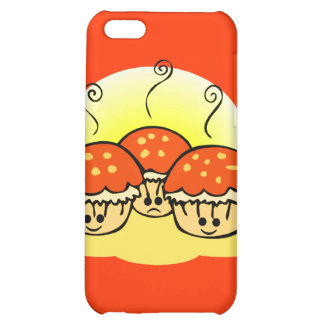 Happy Happy Sad Muffins Cover For iPhone 5C