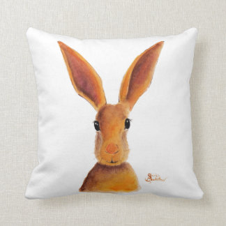 Happy Hare / Rabbit ' GOLDEN JELLY BEAN ' Cushion