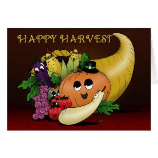 Happy Harvest Bento Babies Card
