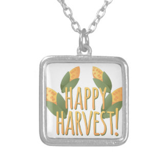 Happy Harvest Silver Plated Necklace