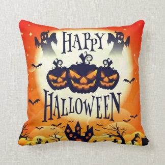 Happy Haunted Halloween Cushion