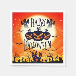 Happy Haunted Halloween Paper Napkins