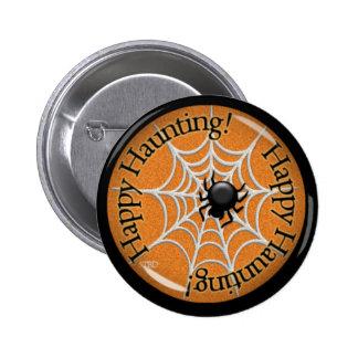 Happy Haunting! 6 Cm Round Badge