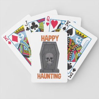 Happy Haunting Bicycle Playing Cards
