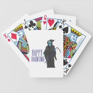 Happy Haunting Poker Deck