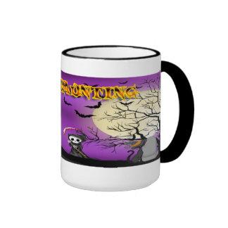 Happy Haunting Reaper Mugs