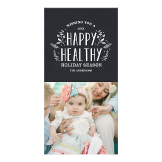 Happy Healthy Holiday | Holiday Photo Cards