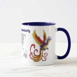 Happy & Healthy Planet Phoenix Mug