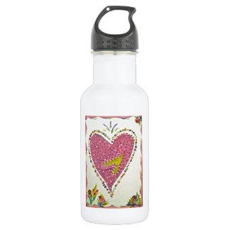 Happy Heart 532 Ml Water Bottle