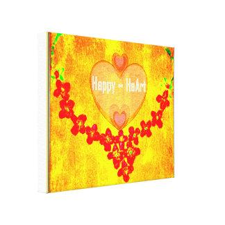 Happy HeArt Canvas Print