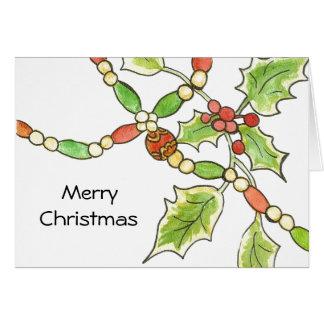 Happy Heart Christmas Card