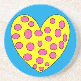 Happy Heart Drink Coasters