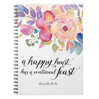 Happy Heart Notebook