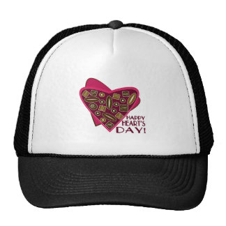 Happy Hearts Day Hat