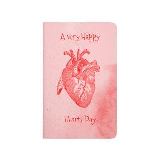 Happy Hearts Day Valentine Journal