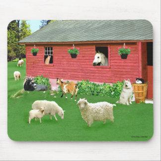"""Happy Hearts Farm"" Mousepad"
